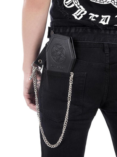 """Worship Me"" Wallet by Killstar (Black)"