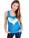 "Women's ""Plug"" Tank by 7th Revolution (Aqua) - www.inkedshop.com"