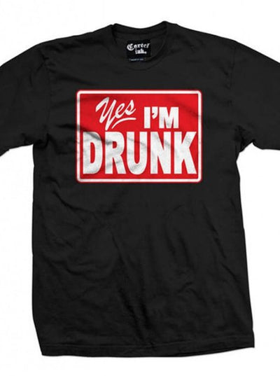 "Men's ""Yes, I'm Drunk"" Tee by Cartel Ink (More Options) - www.inkedshop.com"
