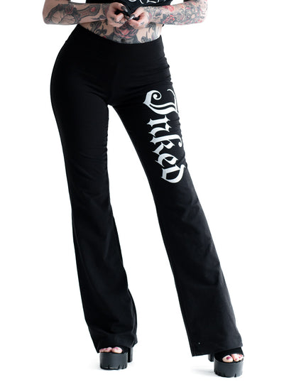 Women's Inked Logo Yoga Pants by Inked
