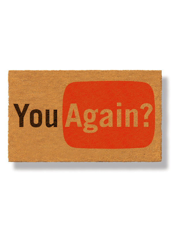 You Again? Doormat by Bison