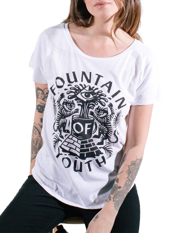 Women's Fountain of Youth Dolman Tee by Pyknic