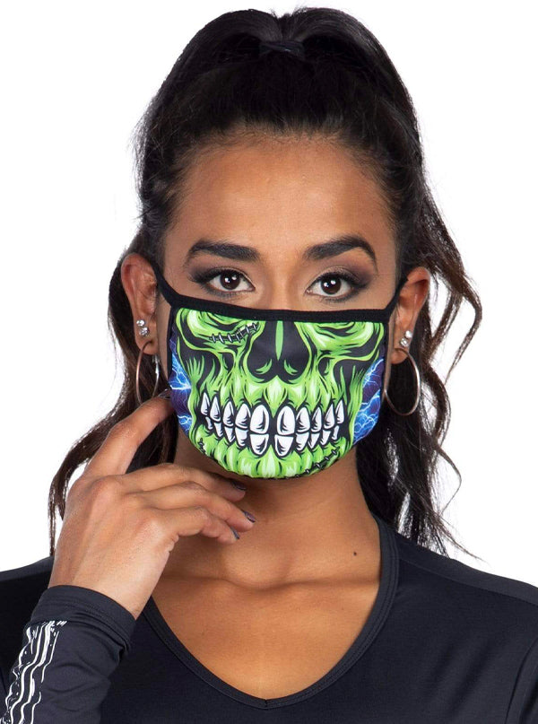 Zombie Skull Face Mask by Leg Avenue