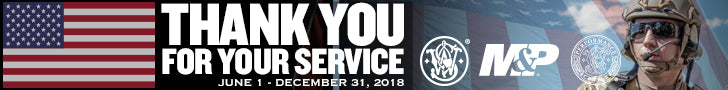 Smith & Wesson Thank You For Your Service 2018 Promotion