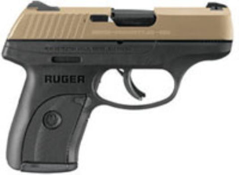 RUGER LC9S PRO 9MM GOLD/POLY