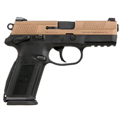 FN FNX-9 9MM Luger 17RD Black Frame/FDE Slide 66670
