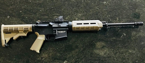 "Black Widow AM-15 FDE .223/5.56 16"" Semi-Auto Rifle"