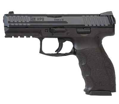 "H&K VP9 9MM BLK 4.1"" 15+1 FS"