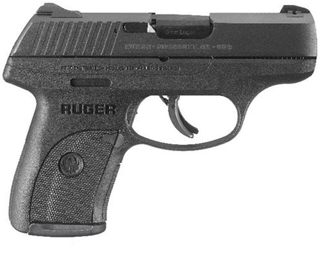 RUGER LC9S PRO 9MM BL/POLY