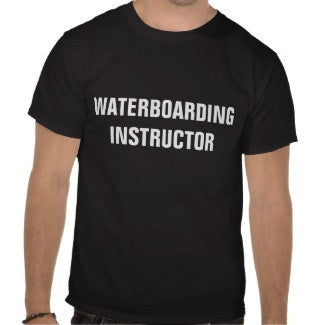 """Waterboarding Instructor"" T-Shirt"
