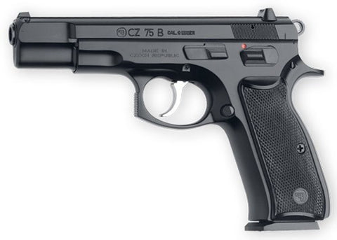 "CZ USA 75B 9MM BLACK 4.7"" 16-SH FS"