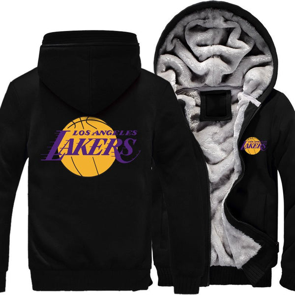 [ 50% OFF!! ] EXCLUSIVE L.A. LAKERS HOODIE JACKET - FREE SHIPPING