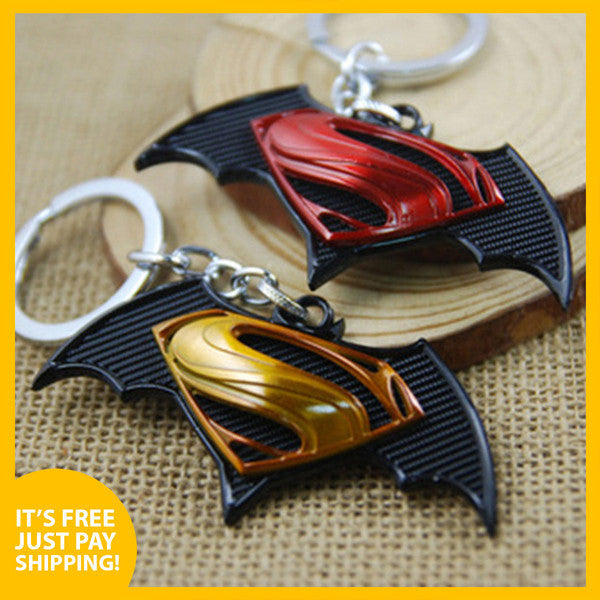 *FREE Batman v Superman Collector's Keychain - Give Away! (Limited Offer)