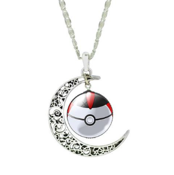 Pokemon GO Pokeball Necklace