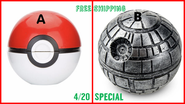 Exclusive Weed Grinder Pokemon vs Star Wars (NOT Sold In Stores)
