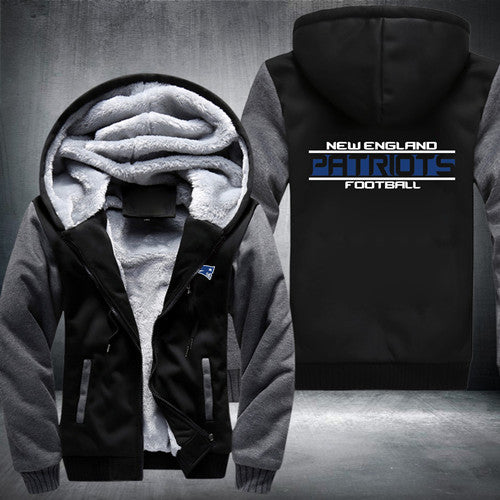 Exclusive New England Patriots Zipper Jacket 50% Off