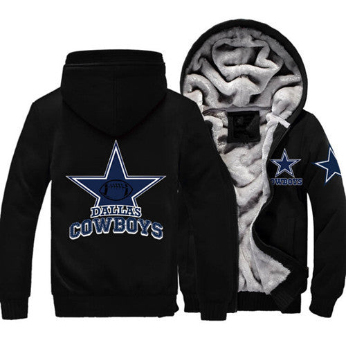 Exclusive Dallas Cowboys Zipper Jacket 50% Off