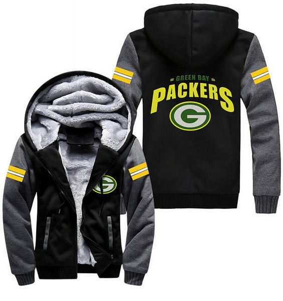 Exclusive Green Bay Packers Zipper Jacket 50% Off