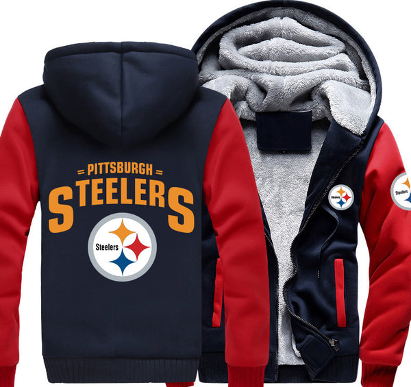 Exclusive Pittsburgh Steelers Zipper Jacket 50% Off