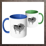 Cave Art Accent Mugs