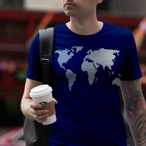 Global Tee-T-Shirts-Plain Graphic Shirts