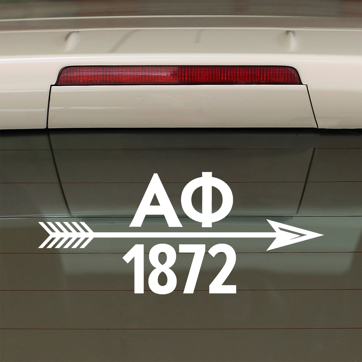 Brit and Bee Sorority Arrow Decal - Alpha Phi