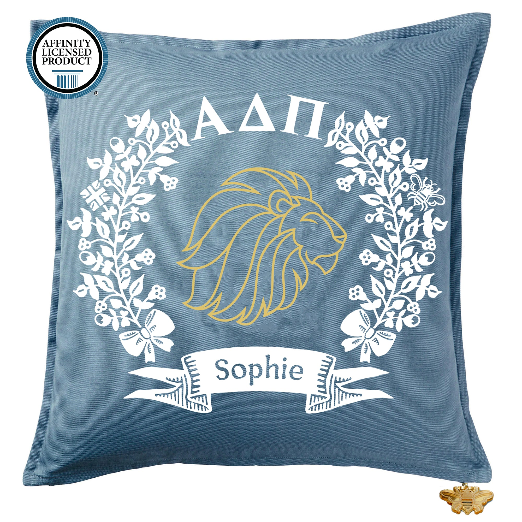 Alpha Delta Pi Pillow | Brit and Bee