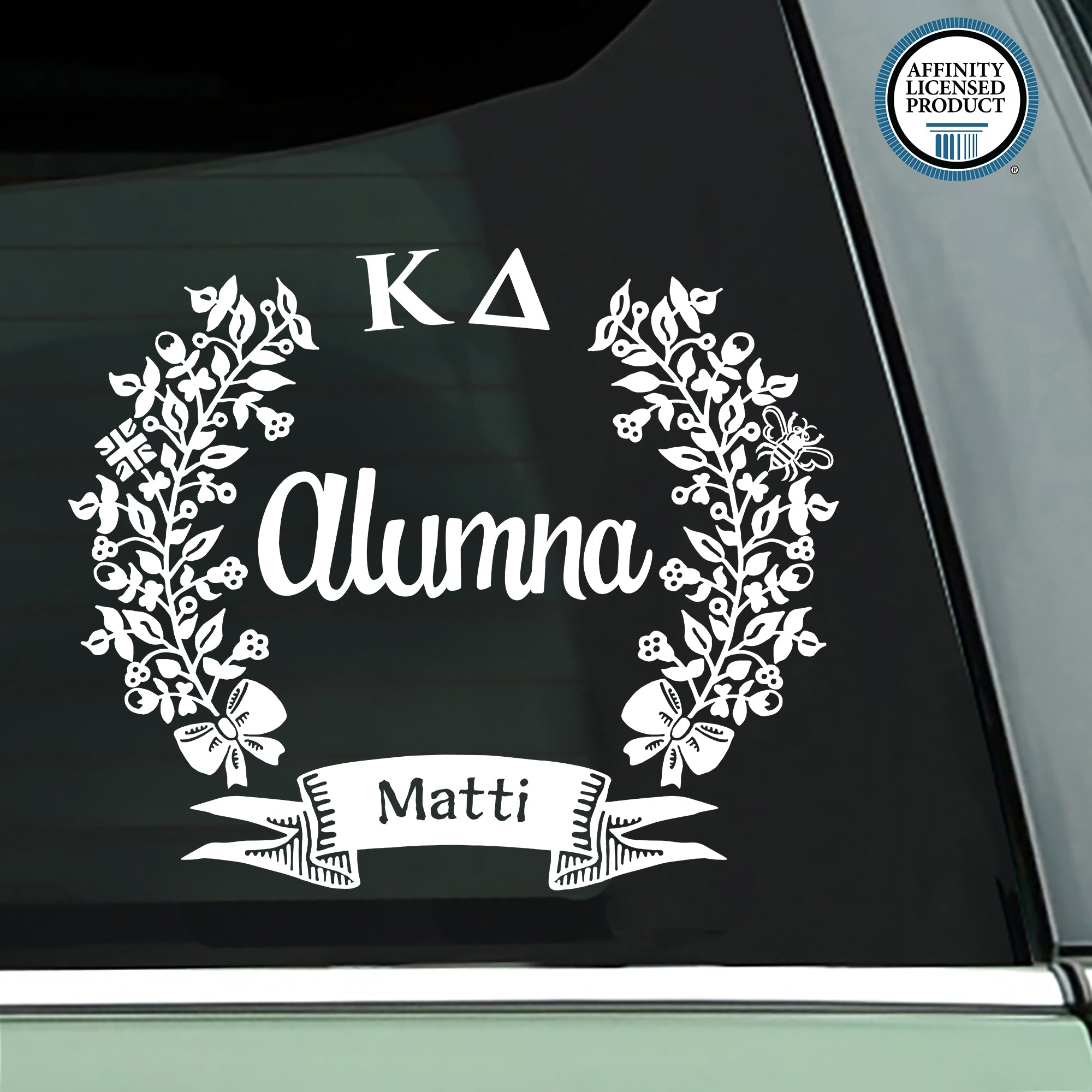 Kappa Delta Alumna Decal | Brit and Bee