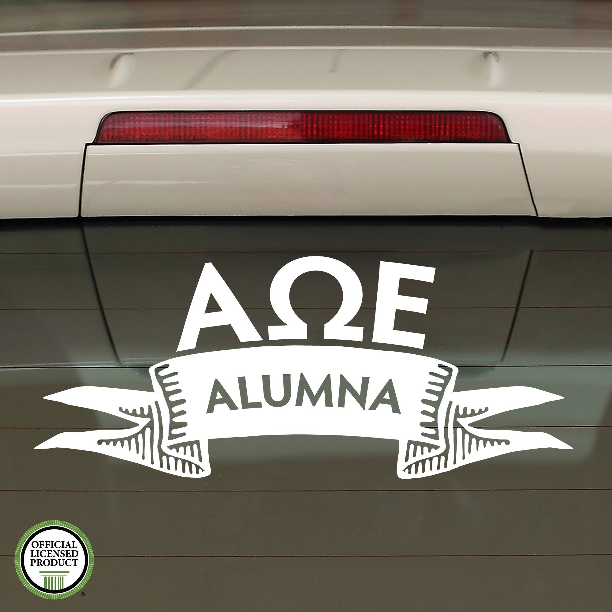 Alpha Omega Epsilon Alumna Decal | Brit and Bee