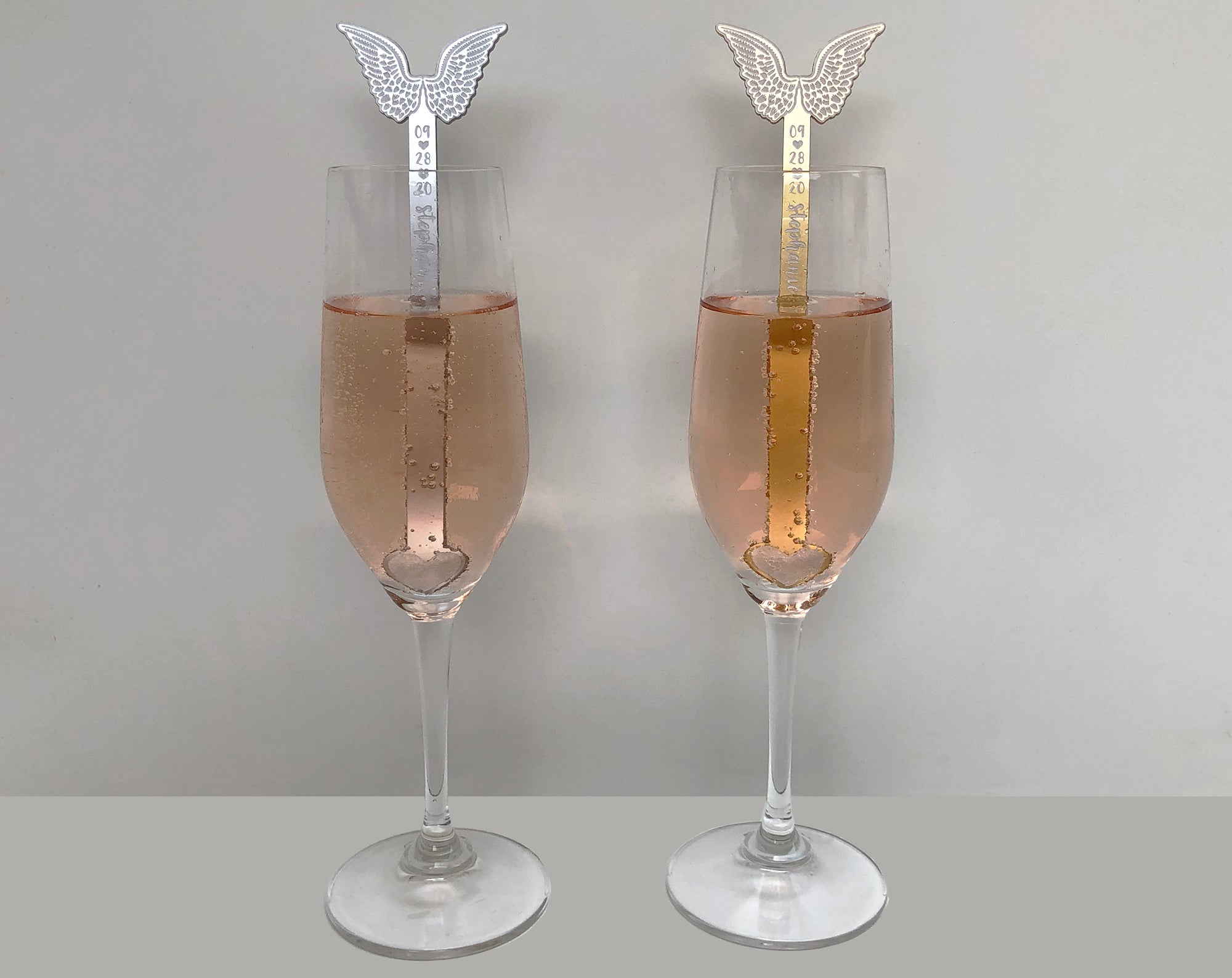 Angel Wings Swizzle Sticks | Brit and Bee