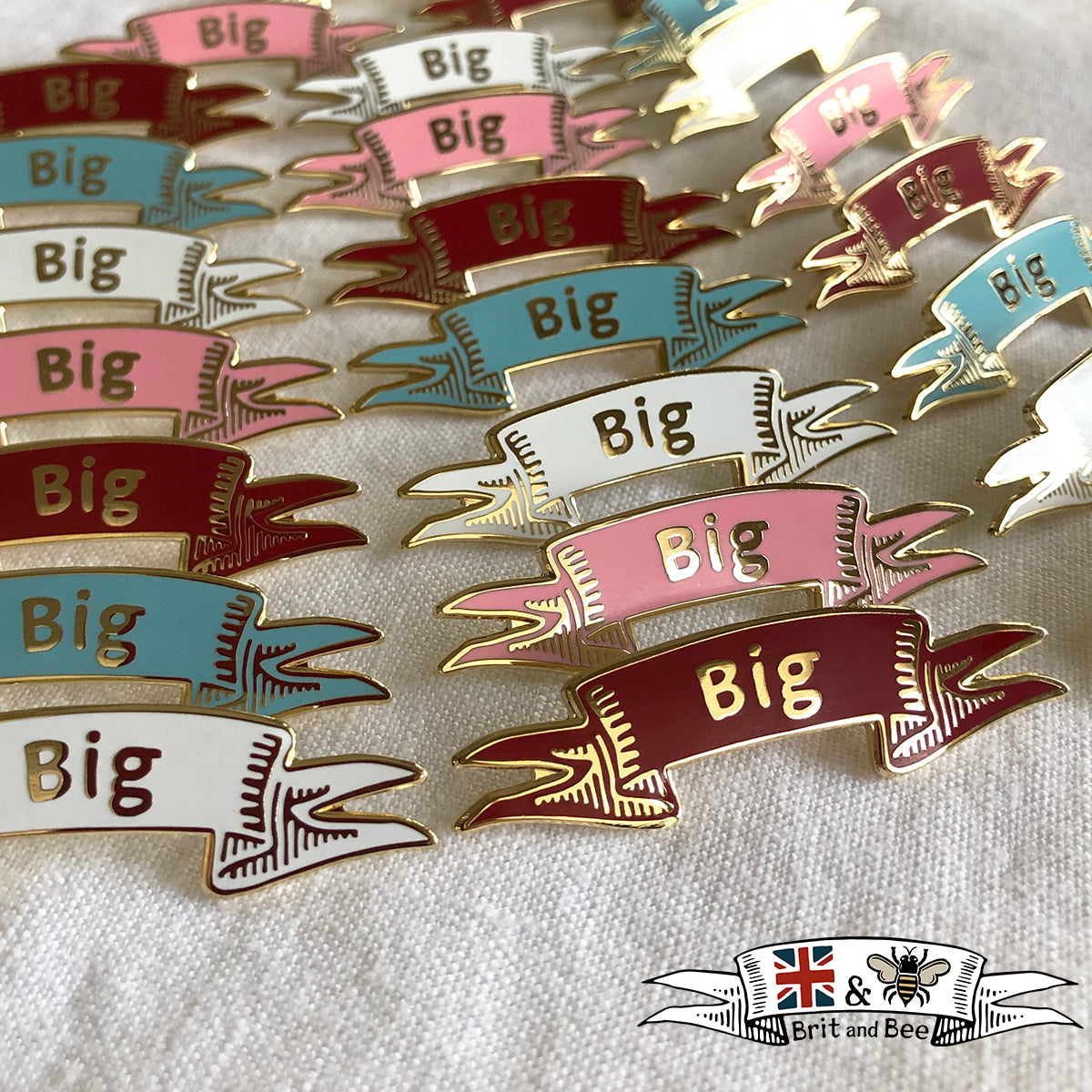 Big Pin | Brit and Bee