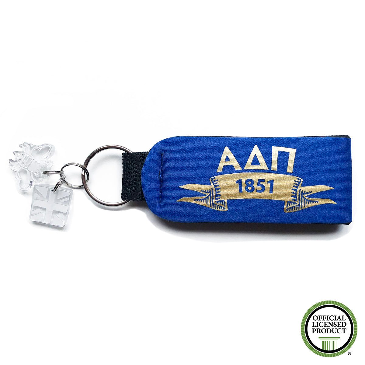 Brit and Bee Sorority Keychain - Alpha Delta Pi