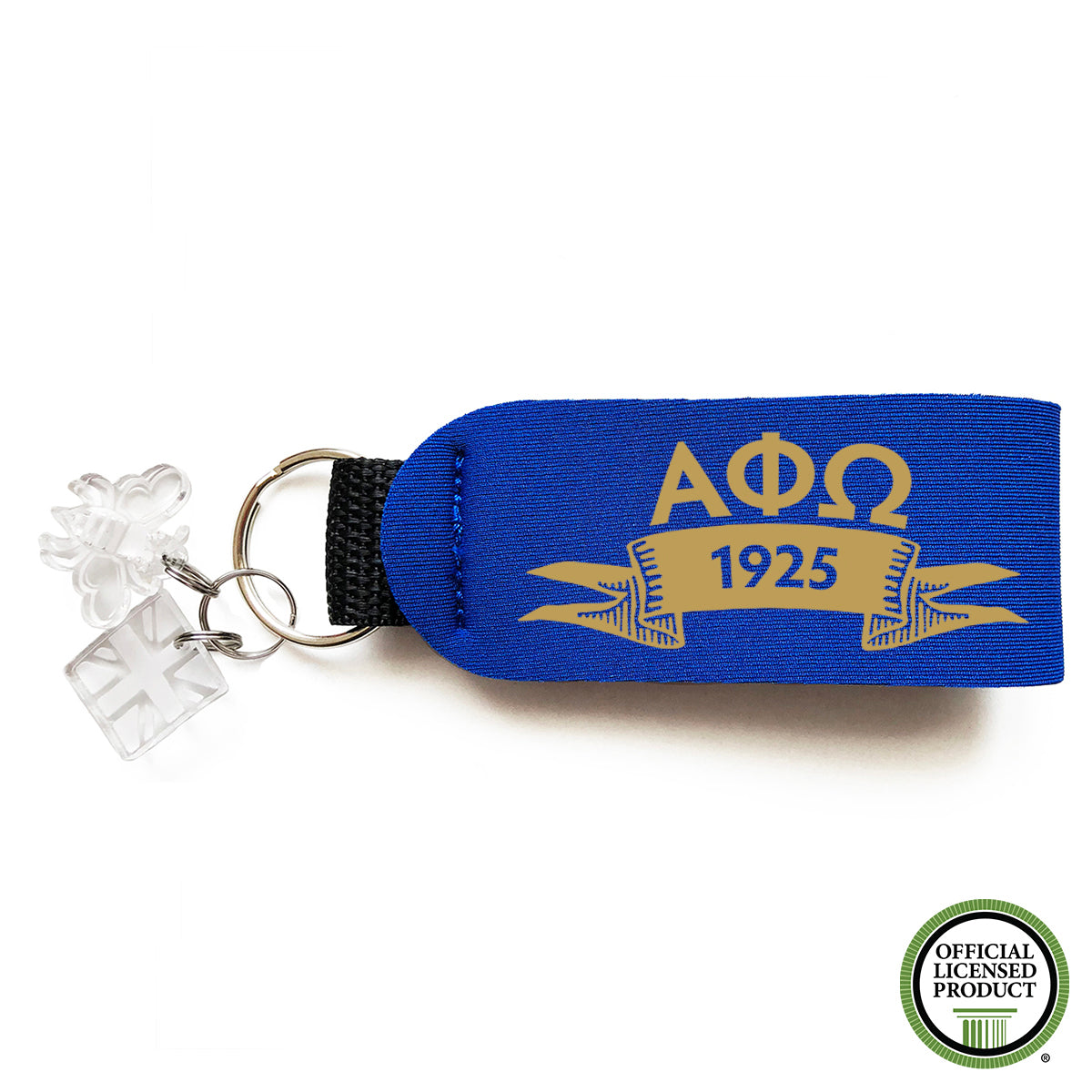 Brit and Bee Sorority Keychain - Alpha Phi Omega