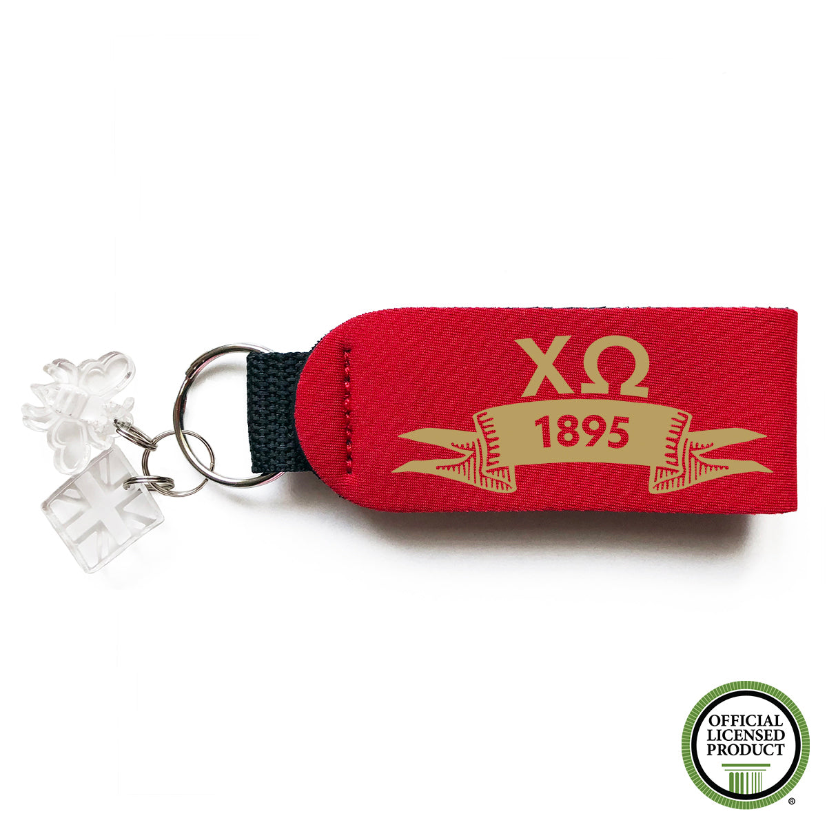 Brit and Bee Sorority Keychain - Chi Omega