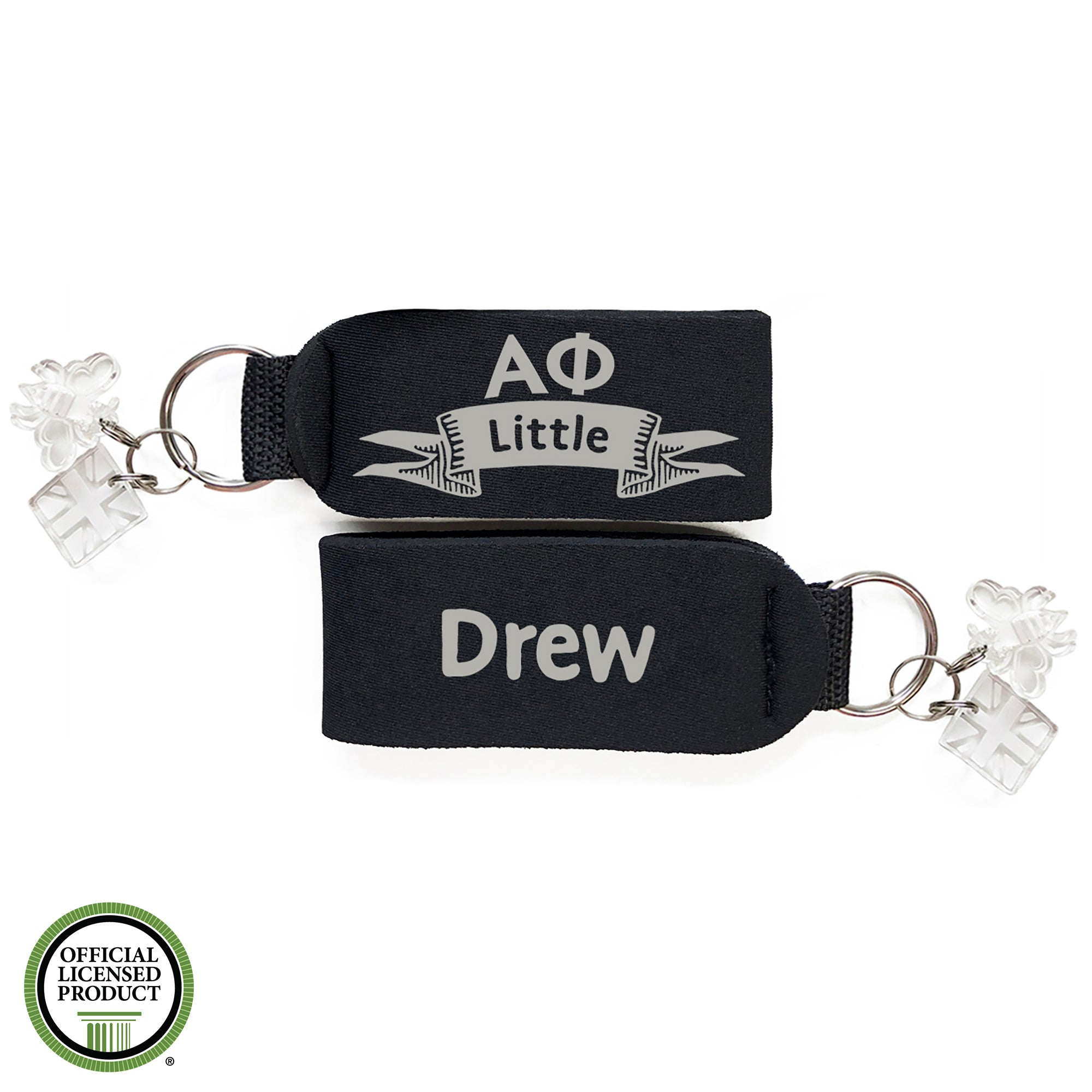 Brit and Bee Sorority Keychain - Alpha Phi