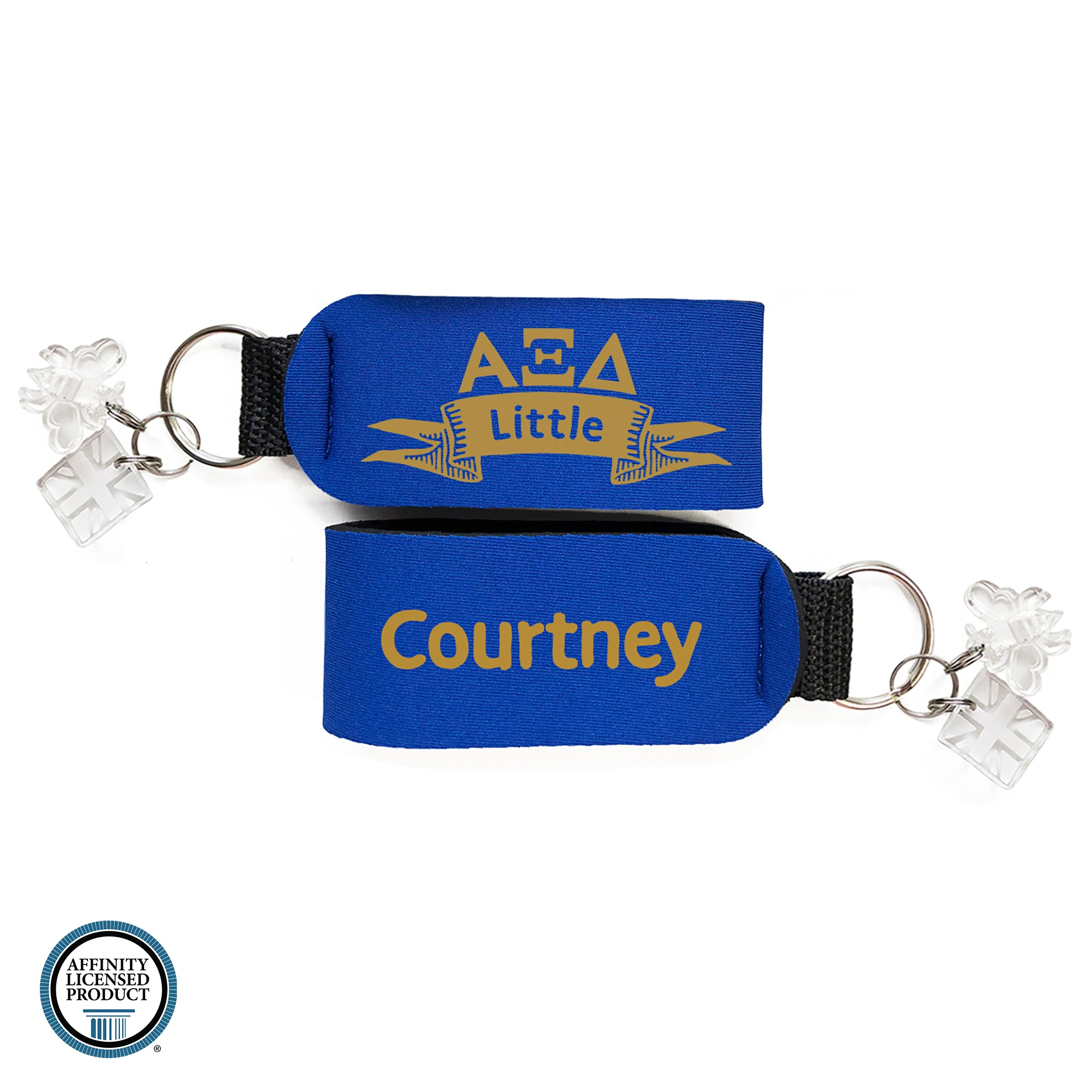 Alpha Xi Delta Little Keychain | Brit and Bee