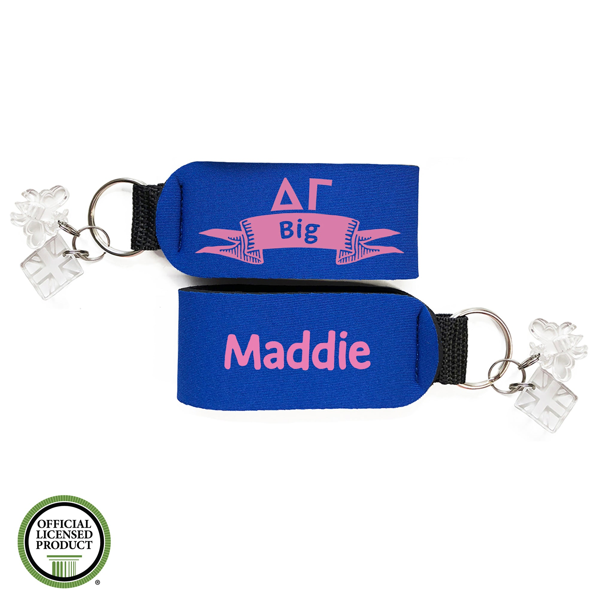 Brit and Bee Sorority Keychain - Delta Gamma