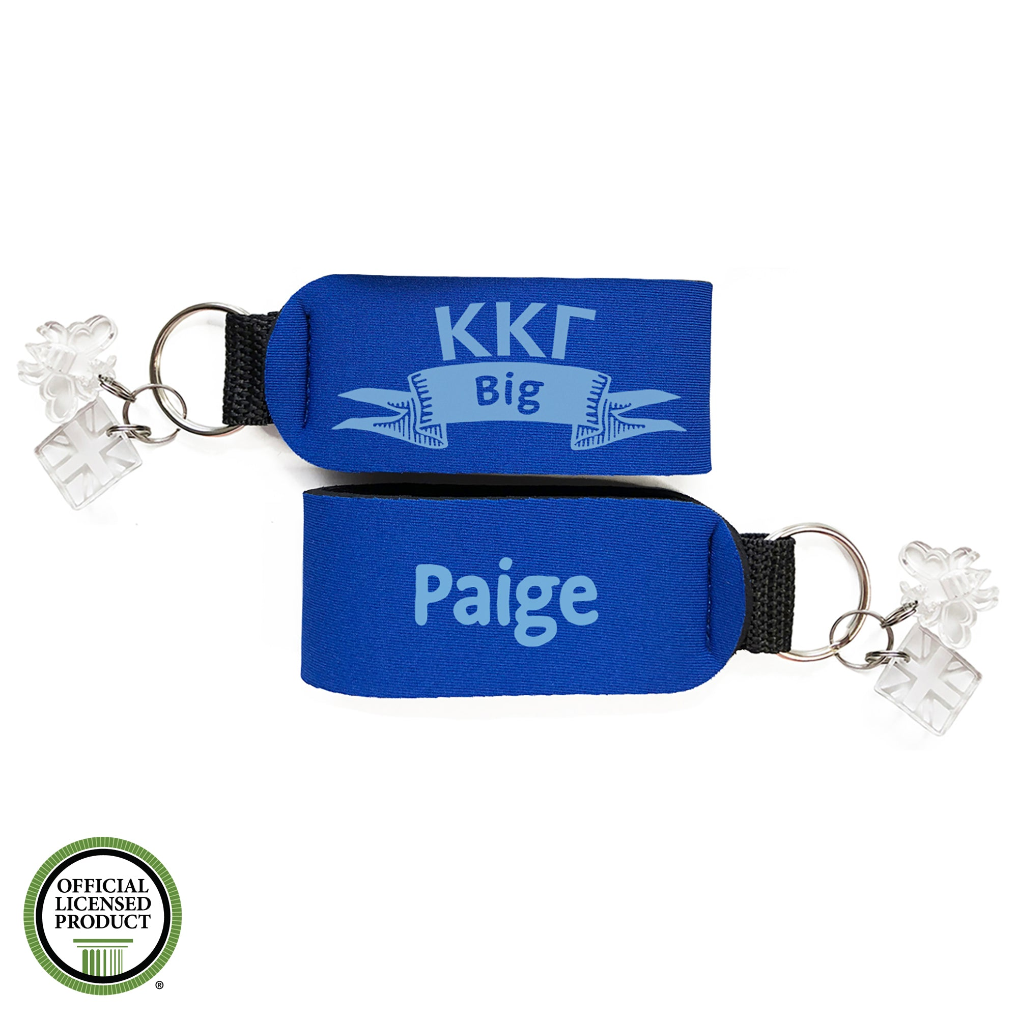 Brit and Bee Sorority Keychain - Kappa Kappa Gamma
