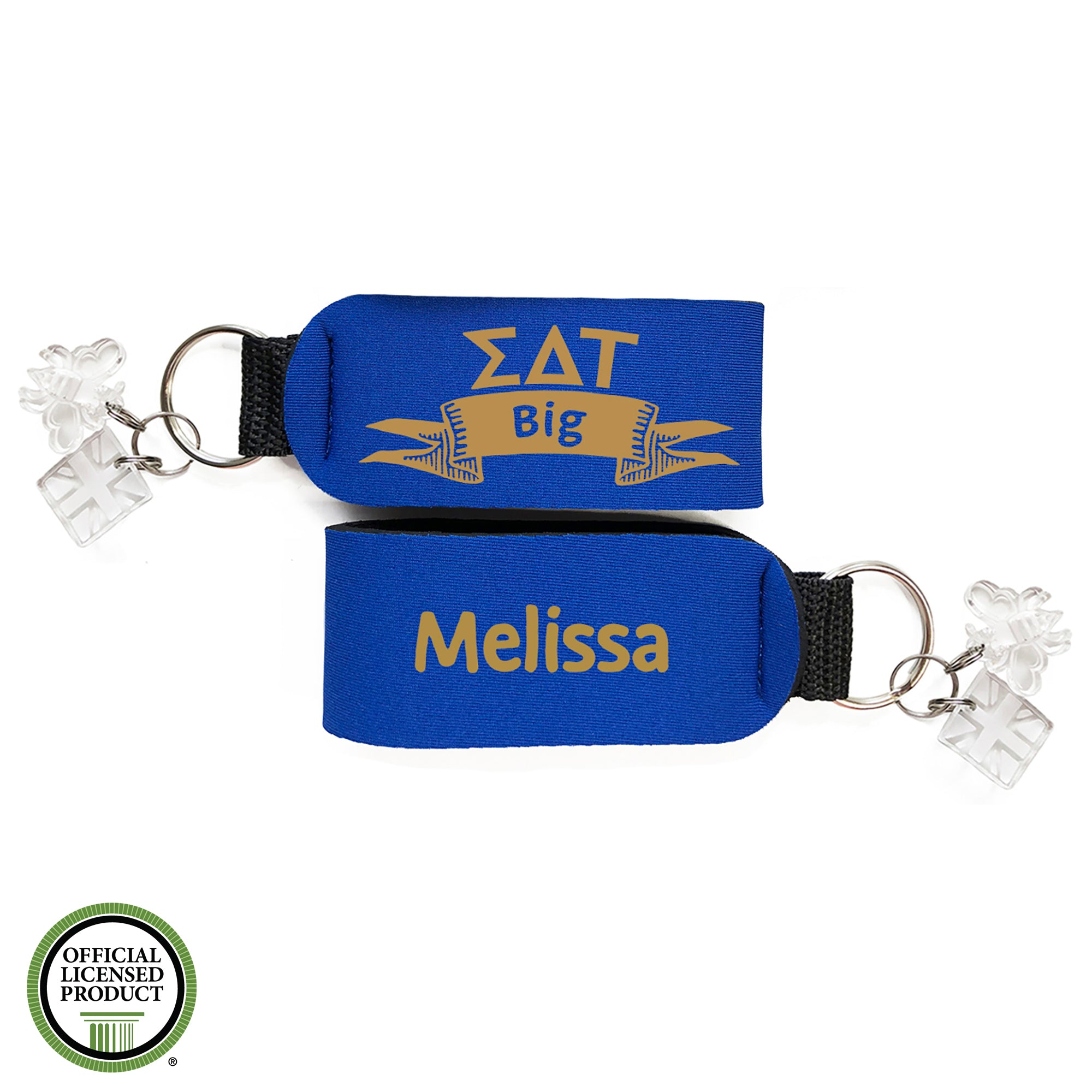 Brit and Bee Sorority Keychain - Sigma Delta Tau