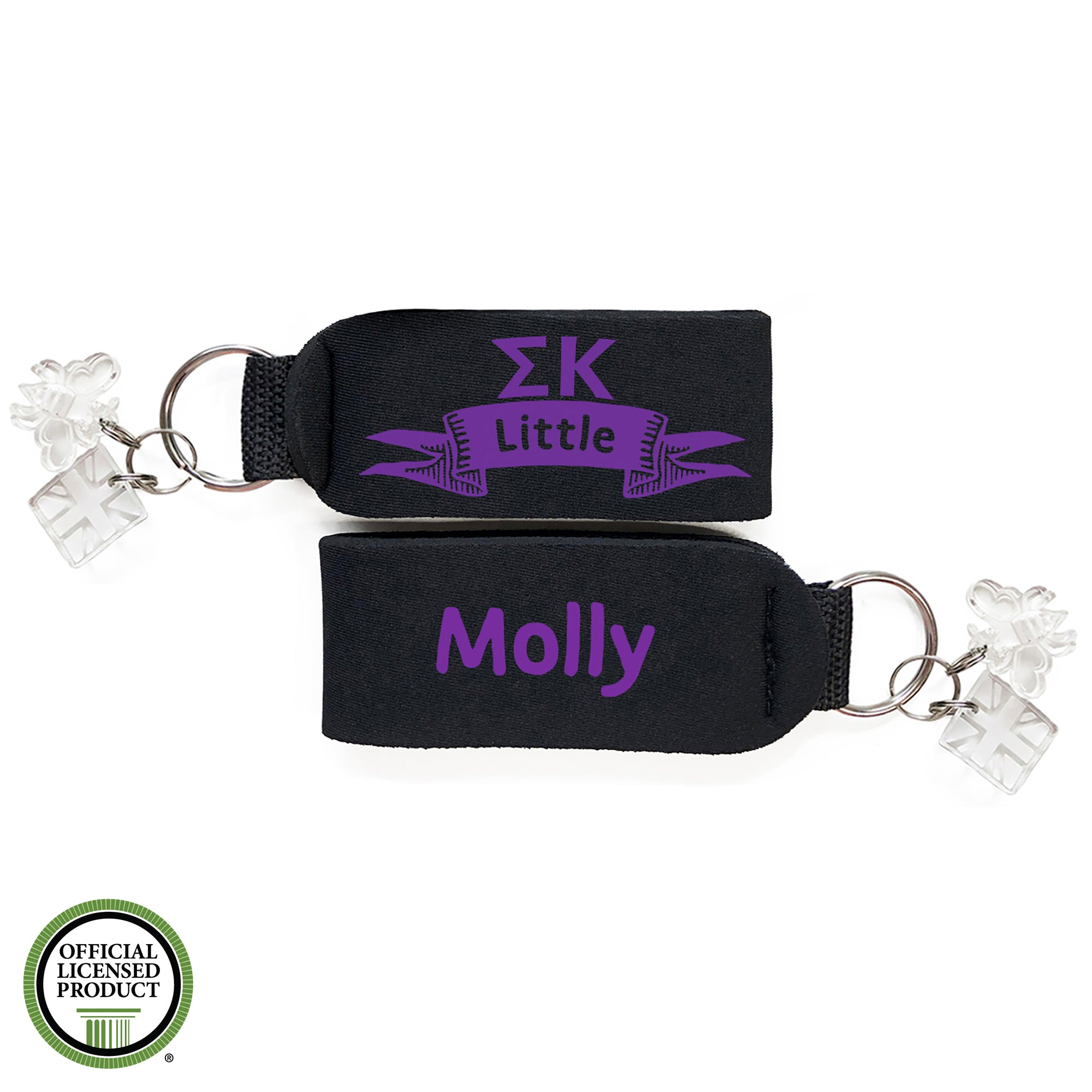 Brit and Bee Sorority Keychain - Sigma Kappa