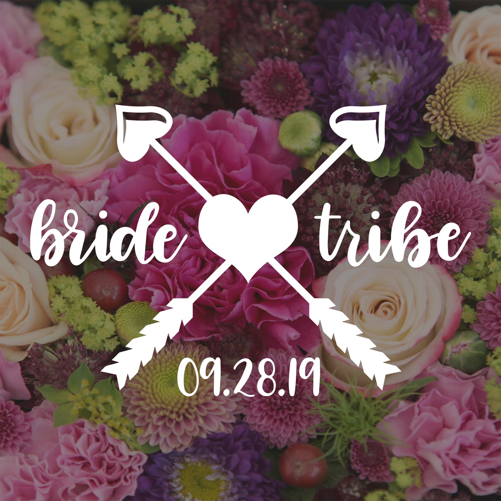 Bride Tribe Decal