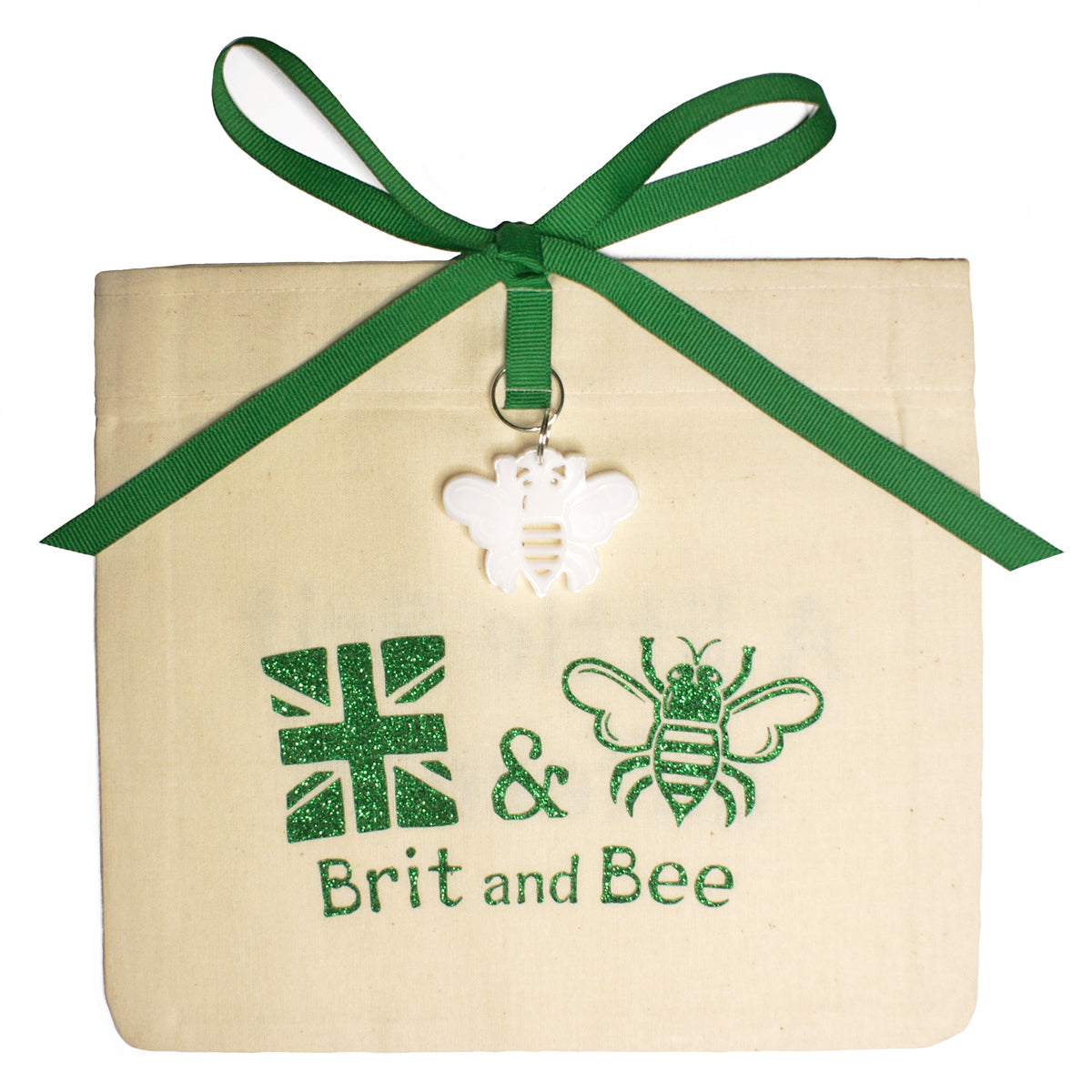Brit and Bee Sorority Ribbon Year Decal - Alpha Epsilon Phi