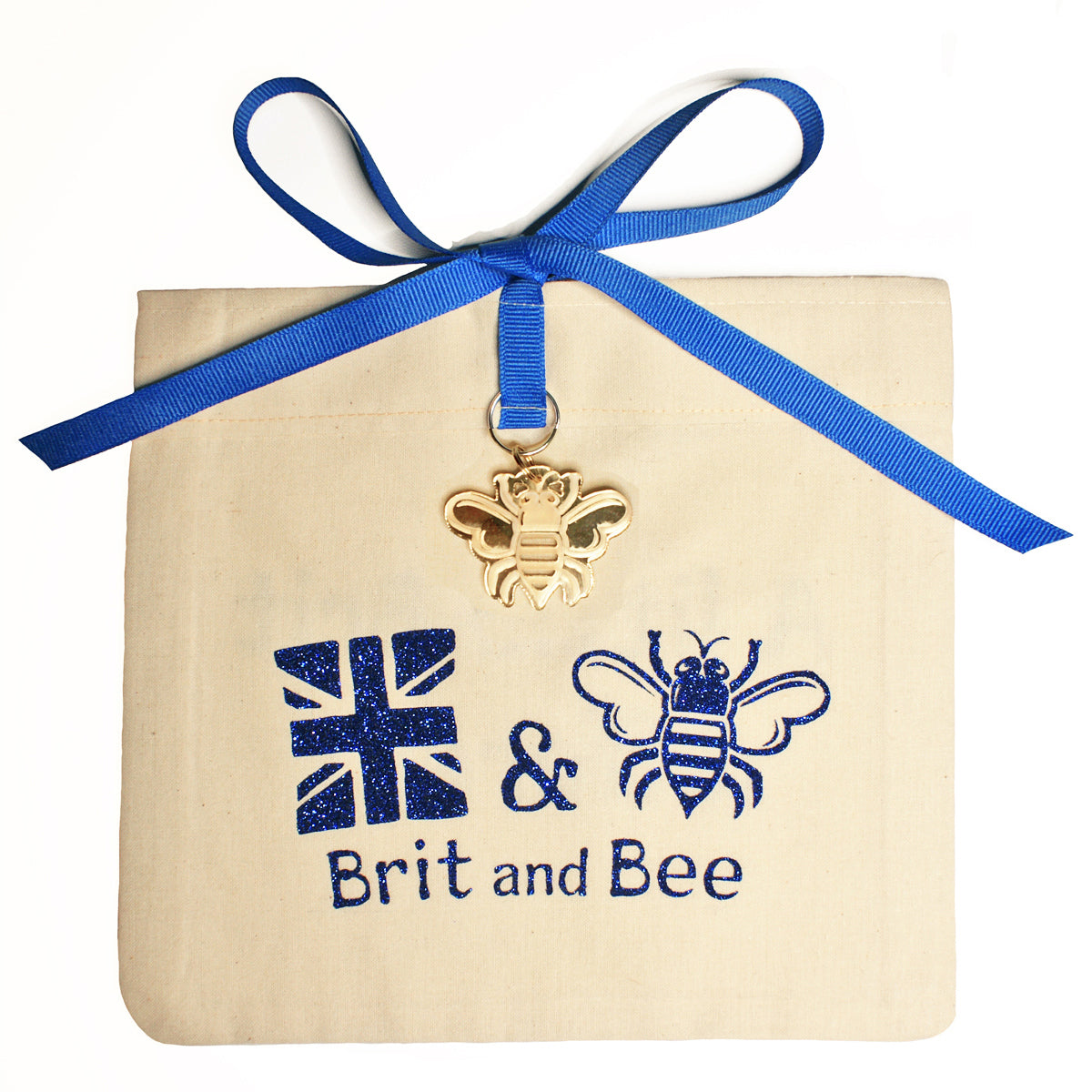 Brit and Bee Sorority Ribbon Alumna Decal - Alpha Phi Omega