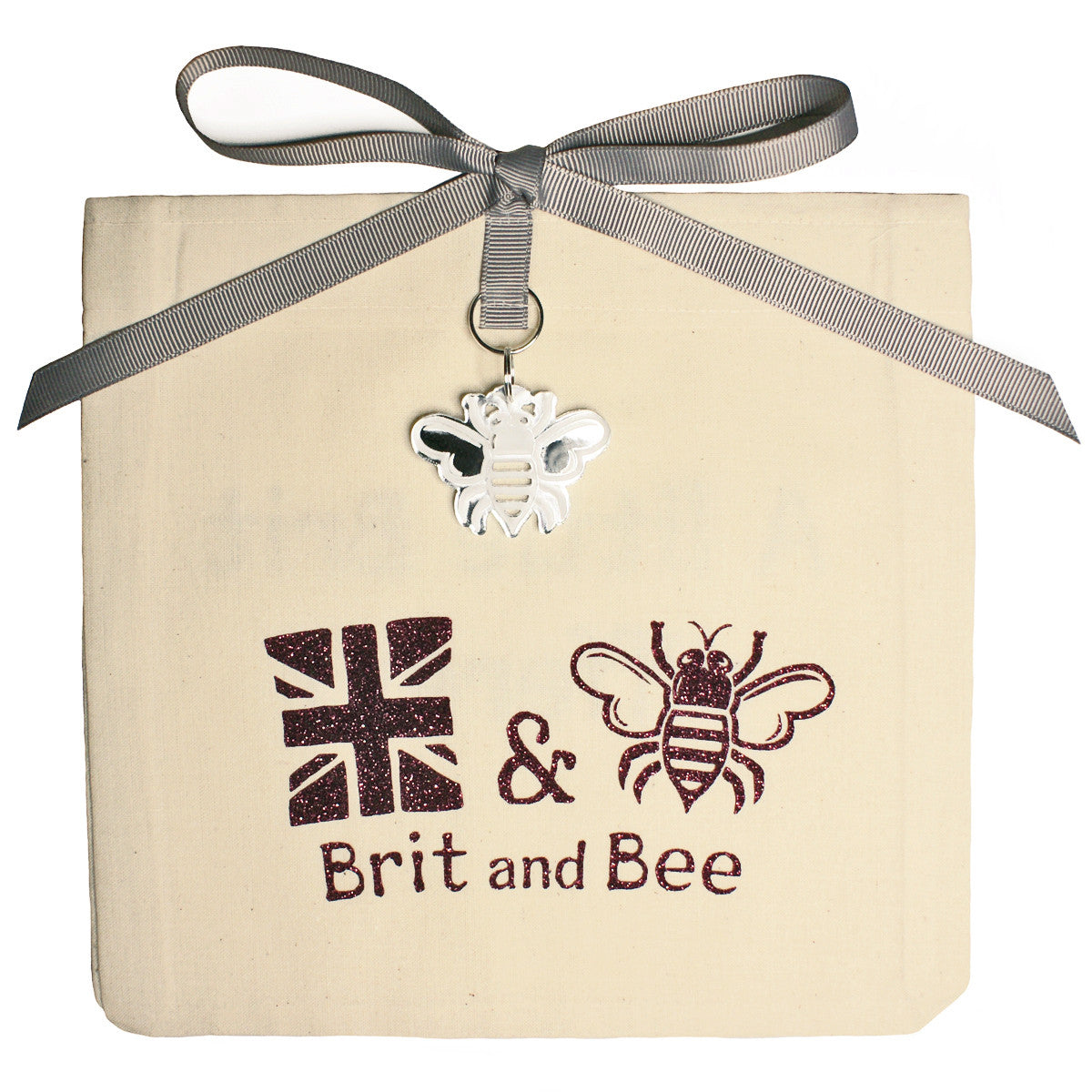 Brit and Bee Sorority Logo Ornament - Alpha Phi