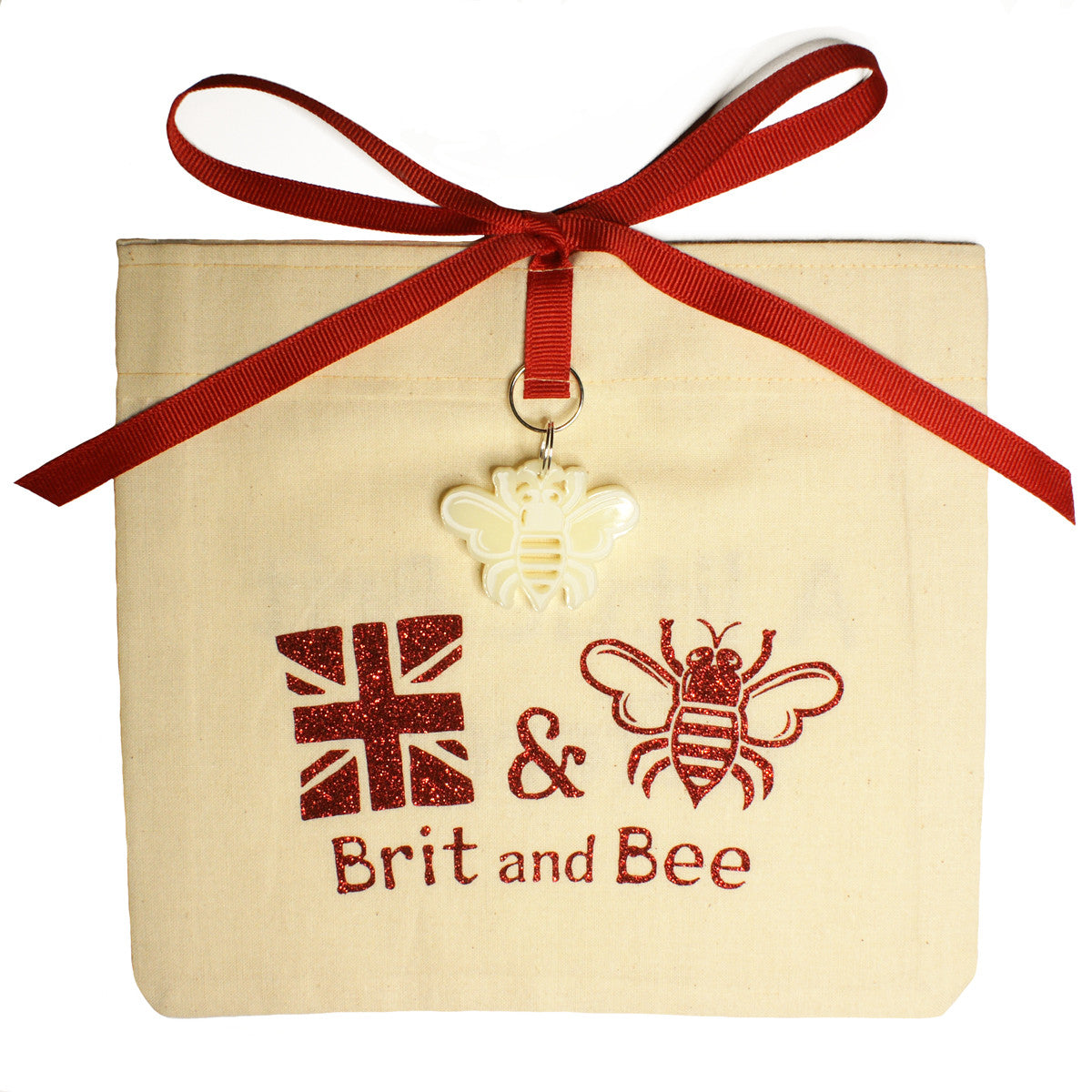 Brit and Bee Love Heart Beecal - Gift Bag