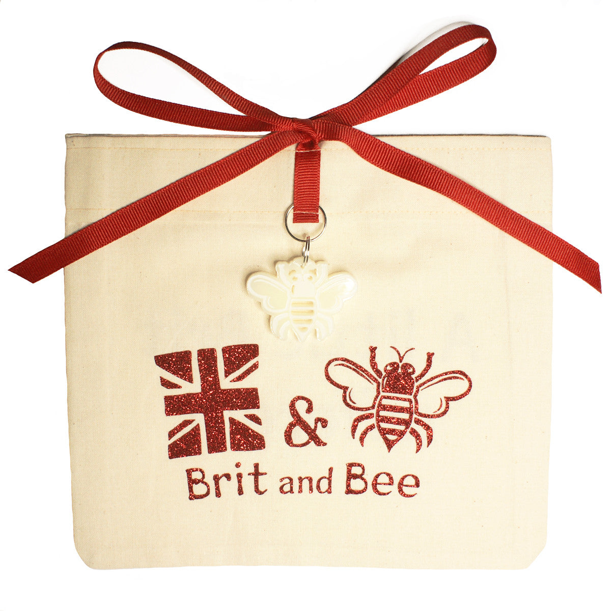 Brit and Bee Sorority Logo Ornament - Chi Omega