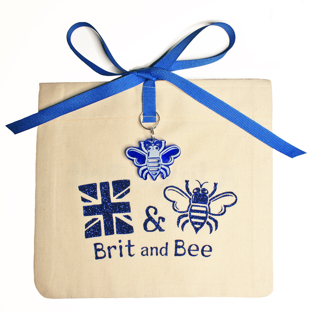 Brit and Bee Sorority Monogram Coaster - Delta Delta Delta