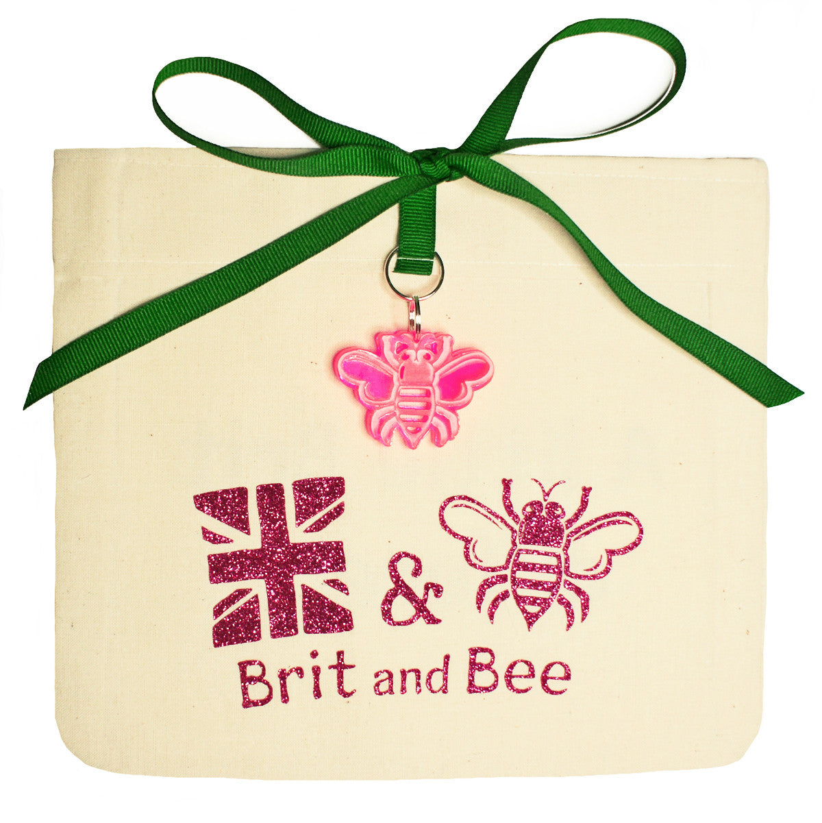 Brit and Bee Sorority Logo Ornament - Delta Zeta