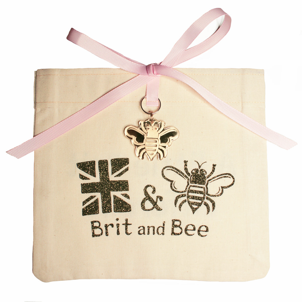 Brit and Bee Sorority Ribbon Alumna Decal - Gamma Phi Beta