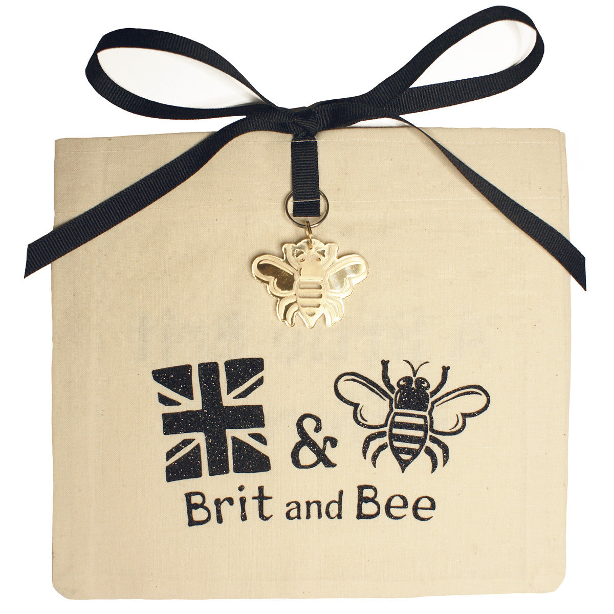 Brit and Bee Sorority Logo Ornament - Kappa Alpha Theta
